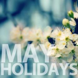 График работы в период Майских праздников!