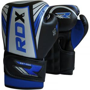 Детские боксерские перчатки RDX Blue