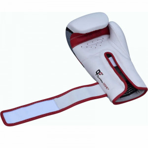 Боксерские перчатки RDX Rex Leather Red 12 oz