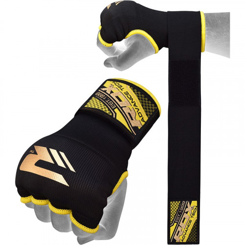 Бинт-перчатки RDX Inner Gel Black р. S