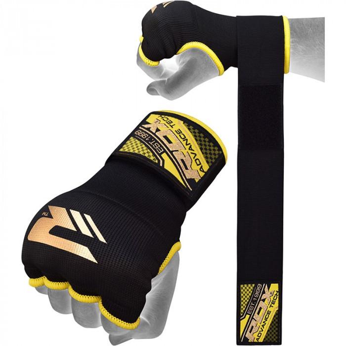 Бинт-перчатки RDX Inner Gel Black р. M
