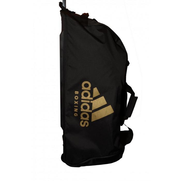 9d045b822b6e Спортивная сумка на колесах Adidas Boxing (ADIACC057B) BK/GD