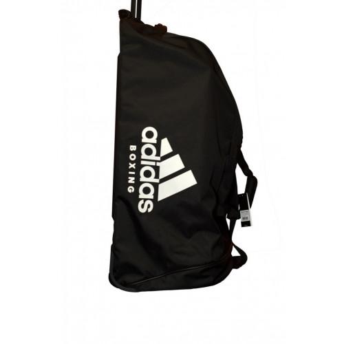 9cafbbda89ba Спортивная сумка на колесах Adidas Boxing (ADIACC057B) BK/WT