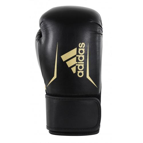 Боксерские перчатки Adidas Speed 100 (ADISBG100) BK/GD р. 12 oz
