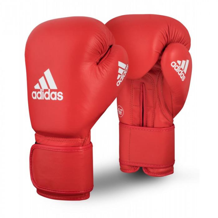 Боксерские перчатки Adidas AIBA (AIBAG1) Red 10 oz