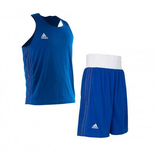 Боксерская форма Adidas Boxing (AdiBPLS01) Blue р. XS