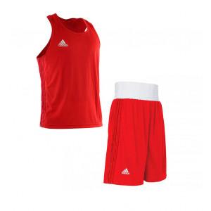 Боксерская форма Adidas Boxing (AdiBPLS01) Red р. XS