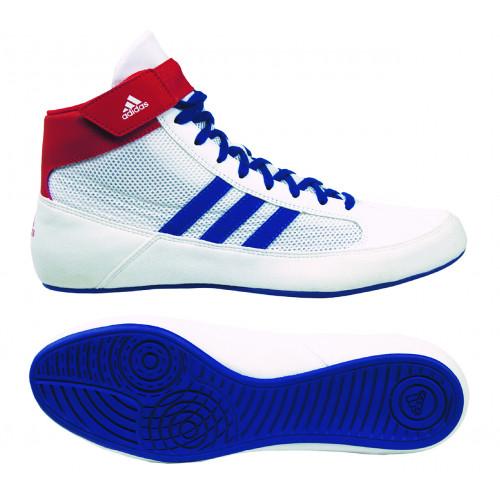 Борцовки Adidas Havoc (BD7129)  WT/BL/RD р. 38 (UK 6)