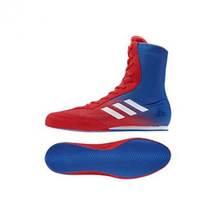 e95f0b9e3b3cac Нет в наличии Боксерки Adidas Box Hog Plus Shoes (DA9896) RD/BL р. 43