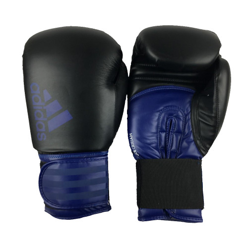 Боксерские перчатки Adidas Hybrid 100 BK/BL 16 oz