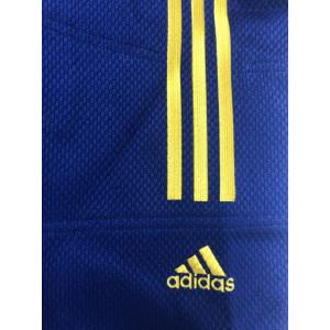 Кимоно для дзюдо Adidas Champion II IJF UA Blue/Yellow р. 195