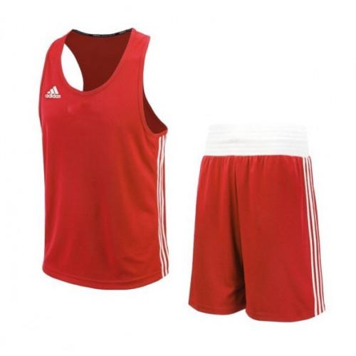 Боксерская форма Adidas BasePunch (ADIBTT02/ADIBTS02) Red р. XXS