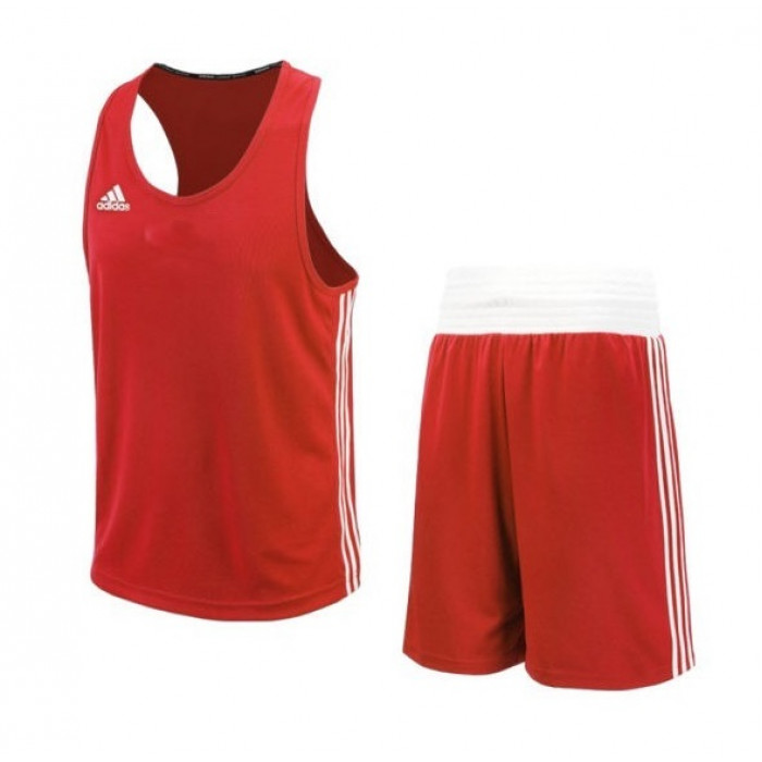 Боксерская форма Adidas BasePunch (ADIBTT02/ADIBTS02) Red р. S