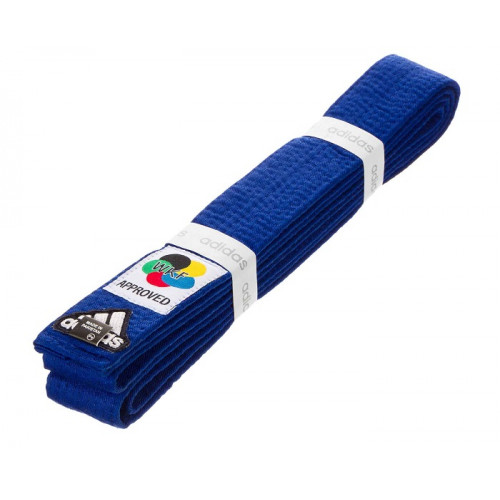 Пояс для кимоно Adidas Elite WKF Синий (adiB240D240) р. 280