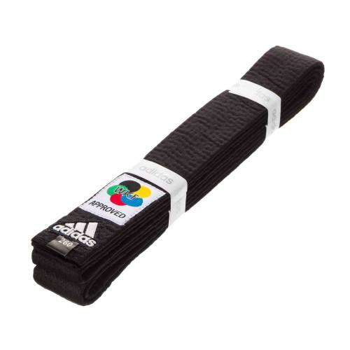 Пояс для кимоно Adidas Elite WKF Черный (adiB240WKF) р. 320