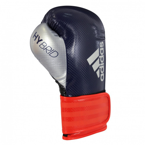 Боксерские перчатки Adidas Hybrid 65 BL/RD/SL 10 oz