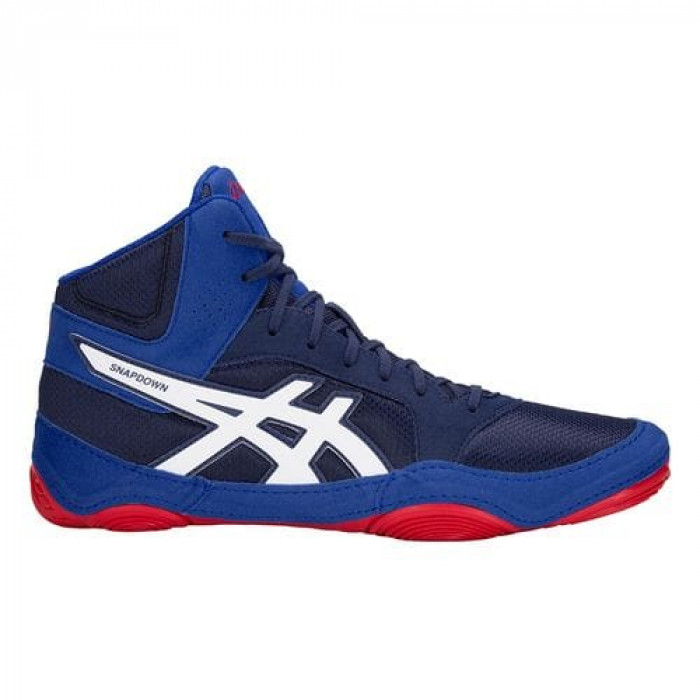 Борцовки Asics Snapdown 2 (J703Y-400) BL/WT/RD р. 46.5 ( US 12.5)