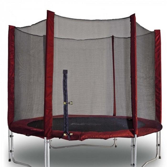 Батут Kidigo Maroon 244 см (btm244) с сеткой