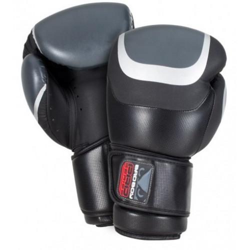 Боксерские перчатки Bad Boy Pro Series 3.0 Black/Grey 14 ун.