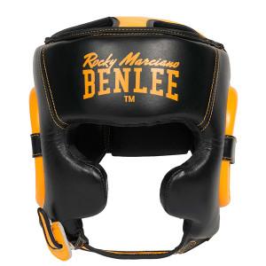 Боксерский шлем Benlee Brockton (199931) Black/Yellow р. S/M
