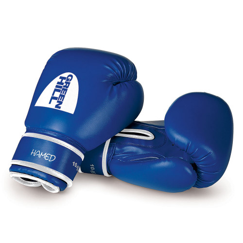 Боксерские перчатки Green Hill Hamed (BGHC-2022) Blue 6 oz