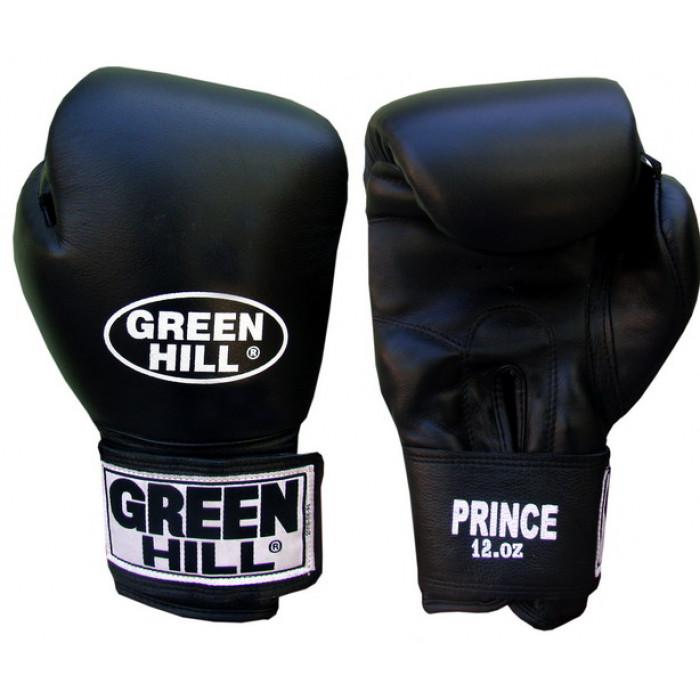 Боксерские перчатки Green Hill Prince (BGP-2028) Black 12 oz