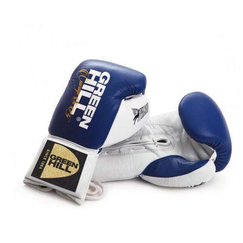 Боксерские перчатки Green Hill Pegasus AIBA (BGP-2239) Blue 12 oz