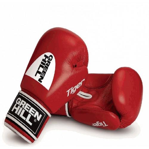 Боксерские перчатки Green Hill Tiger AIBA (BGT-2010а) Red 10 oz