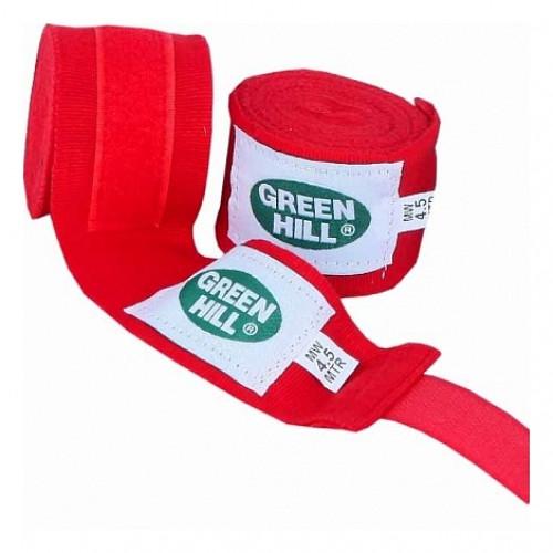 Боксерские бинты Green Hill (BP-6235) Red 3.5 м
