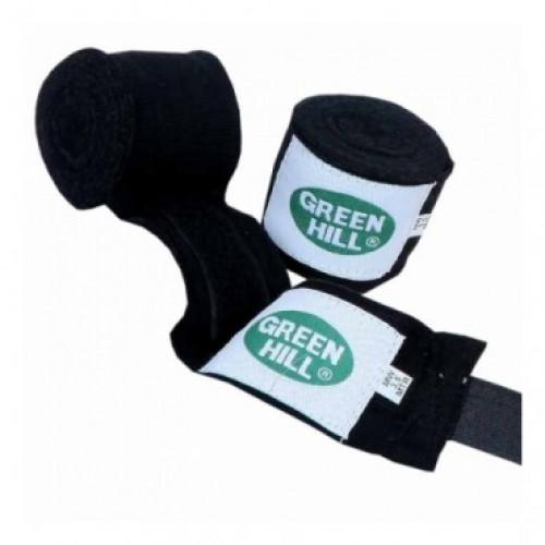 Боксерские бинты Green Hill (BP-6235) Black 3.5 м