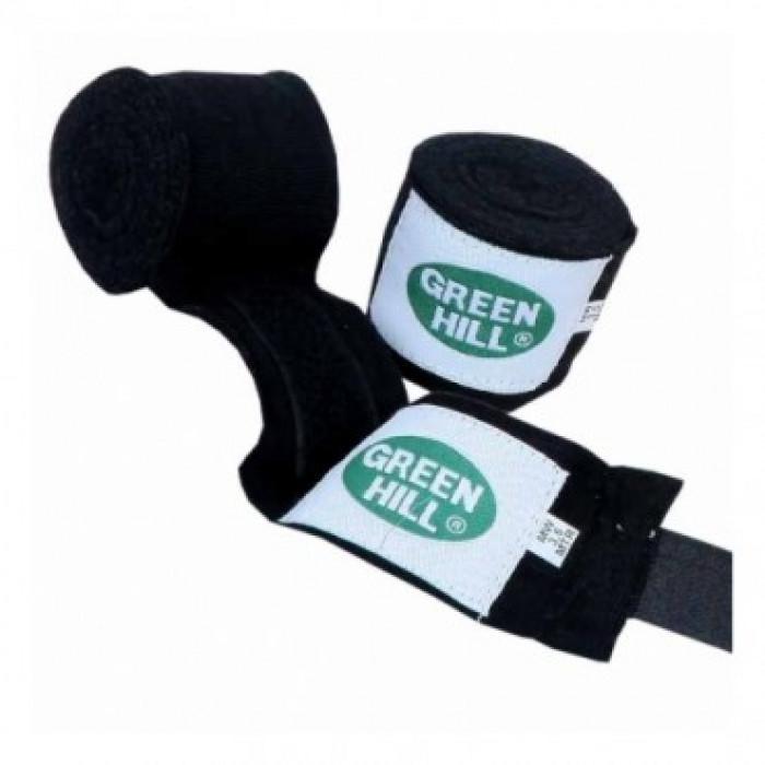 Боксерские бинты Green Hill (BP-6235) Black 4.5 м