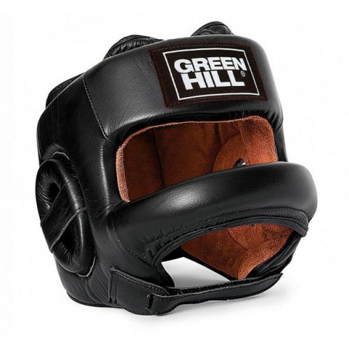 Боксерский шлем Green Hill с бампером Fort р. M