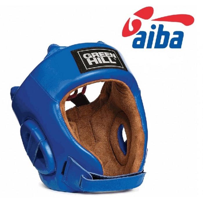 Боксерский шлем Green Hill Five Star AIBA (HGS-4012) Blue р. M