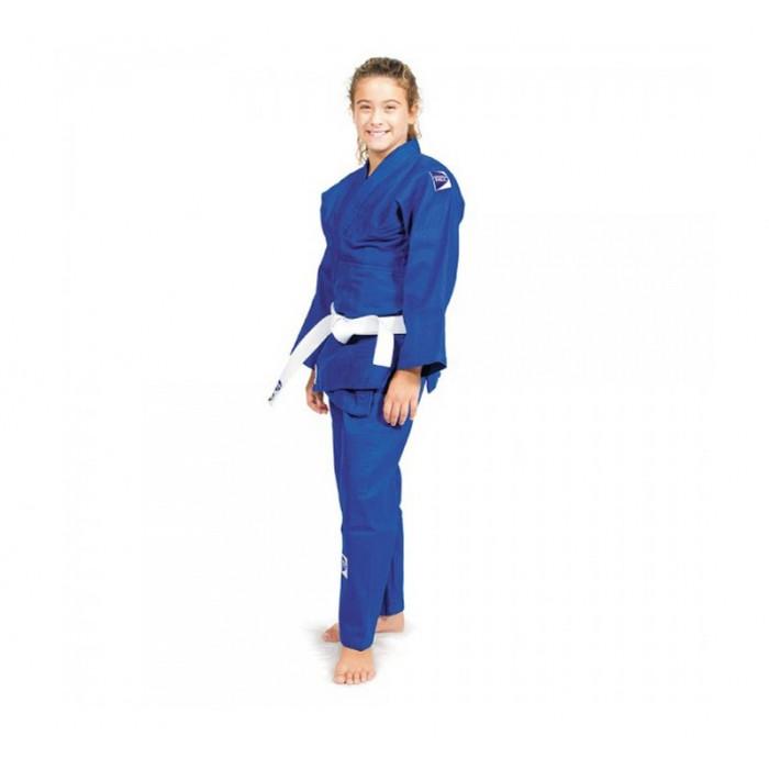 Кимоно для дзюдо Green Hill Junior (JSJ-10227) Blue р. 170