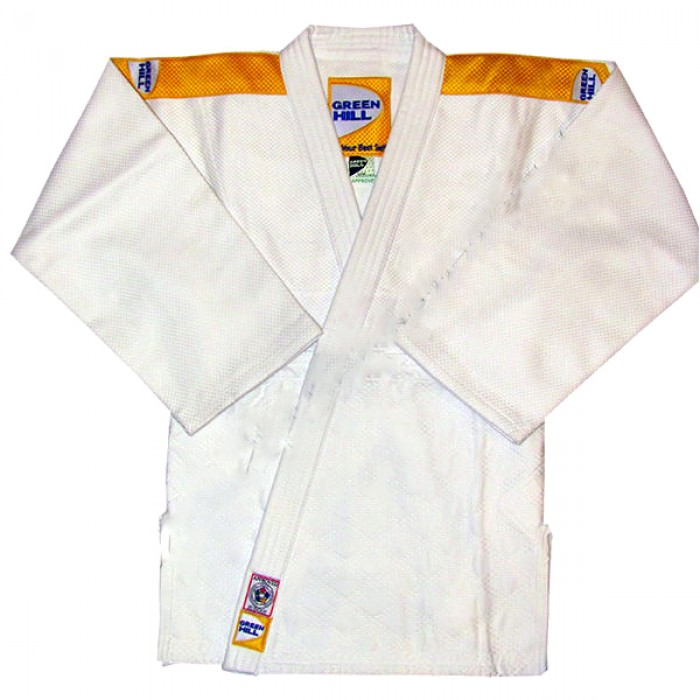 Кимоно для дзюдо Green Hill Professional IJF (JSP-10387) White р. 150