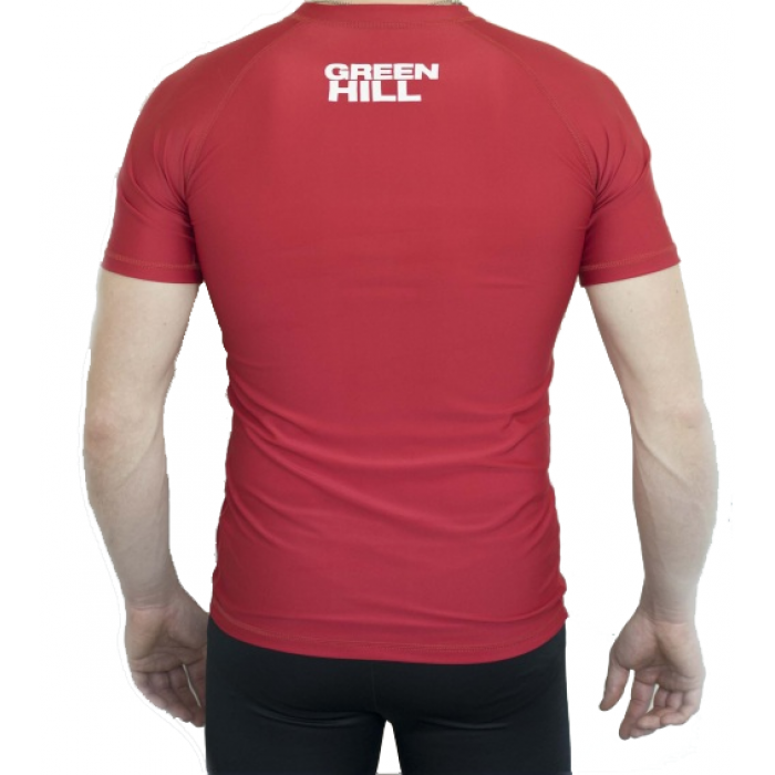 Рашгард Green Hill (RGS-3558) Red р. M