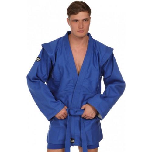 Куртка для самбо Green Hill Master (SC-2001) Blue р. 210