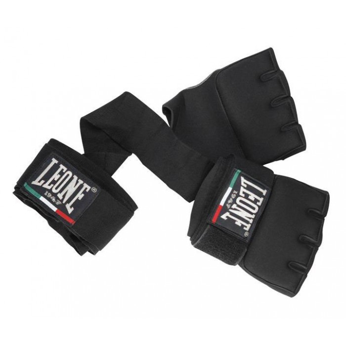 Бинт-перчатки Neoprene Black Leone