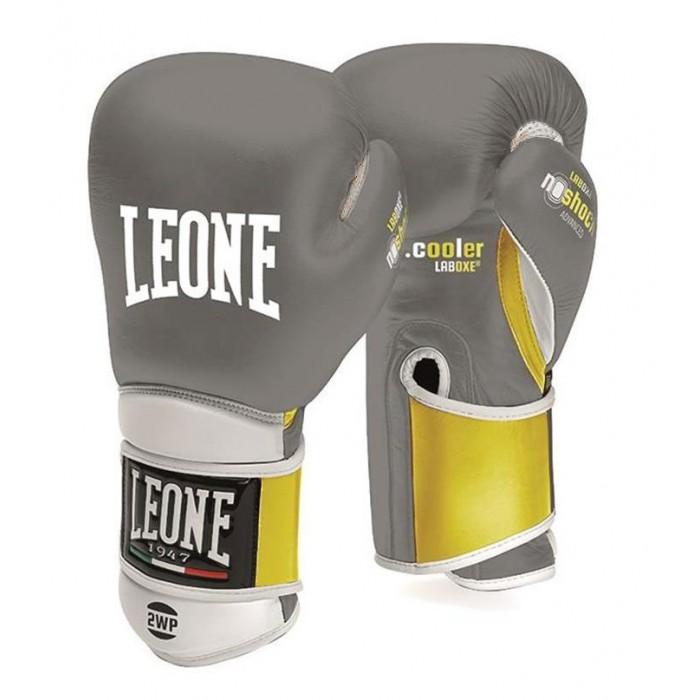 Боксерские перчатки Leone Tecnico Grey р. 14 oz