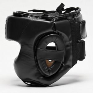 Боксерский шлем Leone Training Black р. L