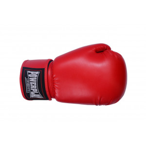 Боксерские перчатки PowerPlay (3004) Red 16 oz