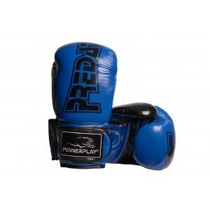 Боксерские перчатки PowerPlay Predator (3017) BL/BK 16 oz