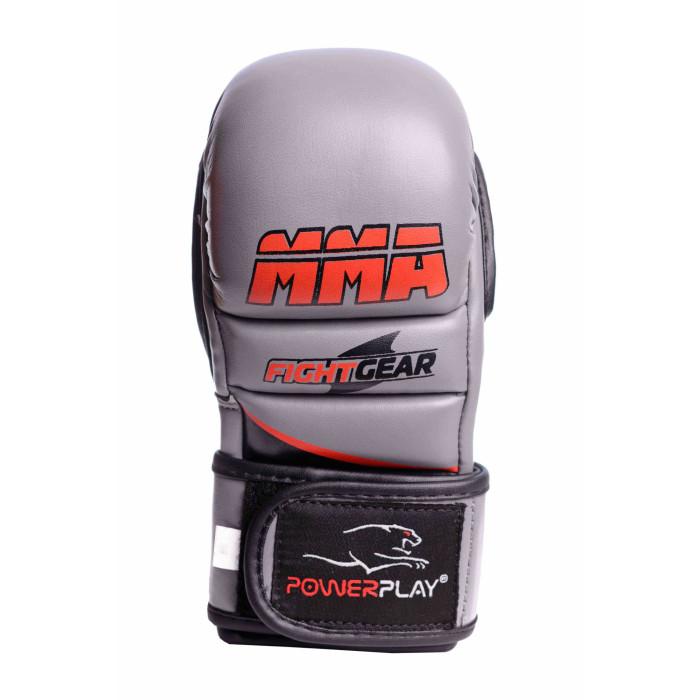 Перчатки для ММА PowerPlay (3026) GR р. L