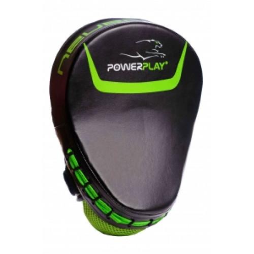 Лапы боксерские PowerPlay (3041) Green