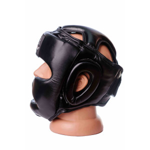 Боксерский шлем PowerPlay (3048) Red р. S