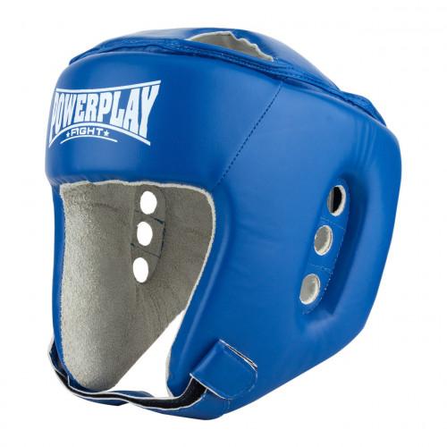 Боксерский шлем PowerPlay (3084) Blue р. M