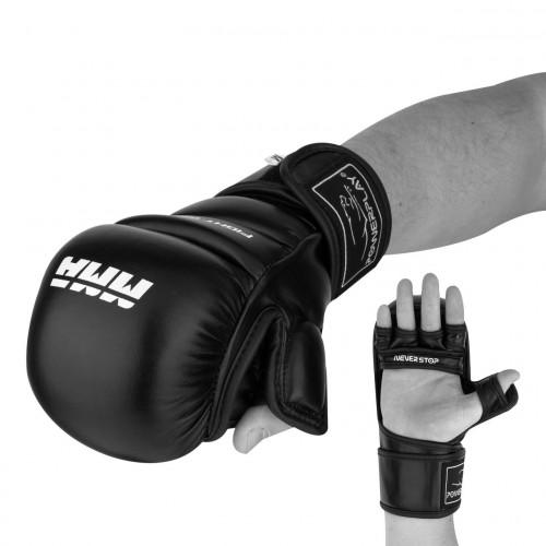 Перчатки для ММА PowerPlay (3026) Black р. L