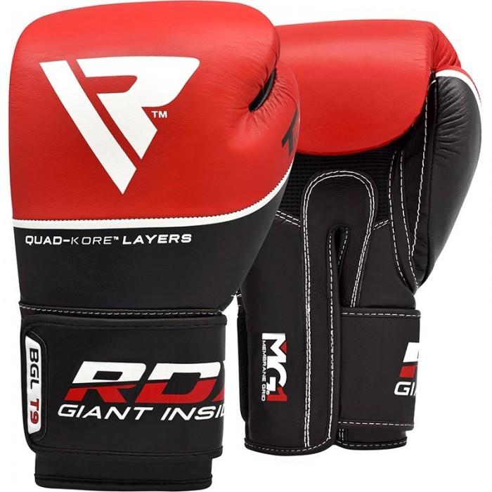 Боксерские перчатки RDX Quad Kore Red 10 ун.