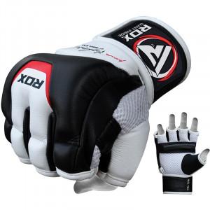 Снарядные перчатки, битки RDX Leather р. L