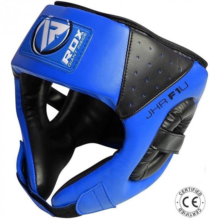 Боксерский шлем детский RDX Blue